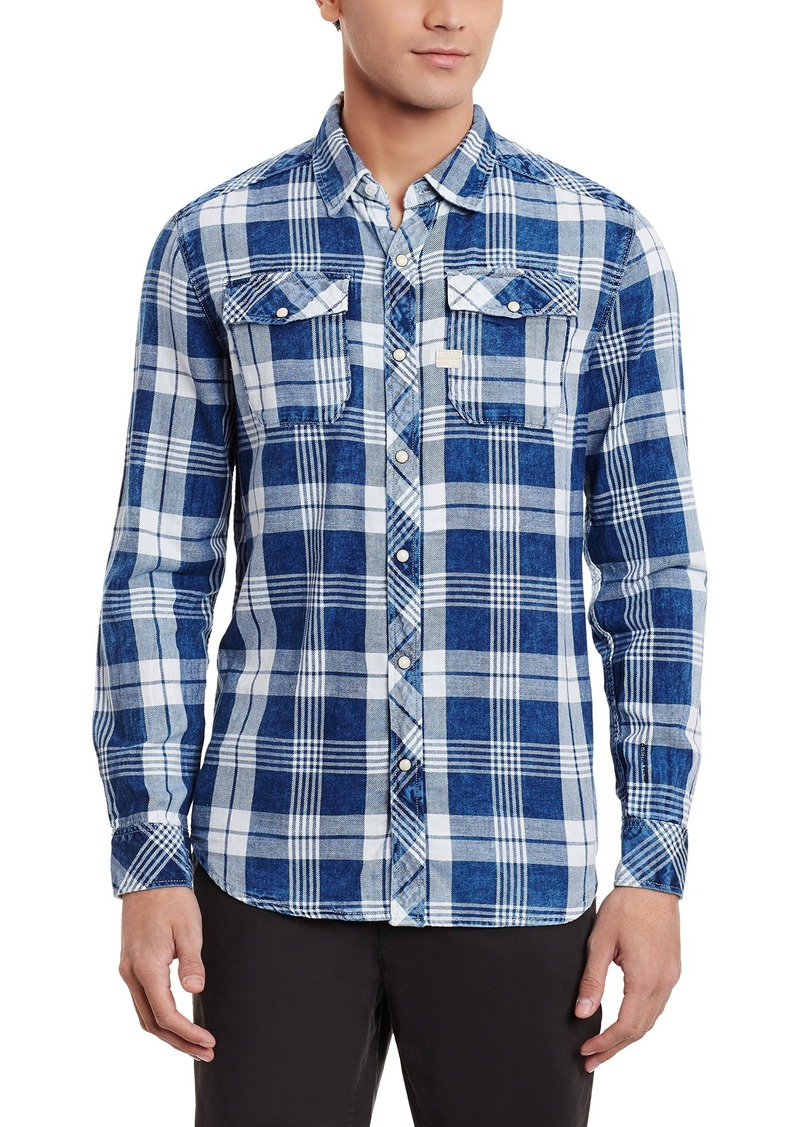 G Star Raw Denim G-Star Raw Men's Landoh Malta Flannel Shirt