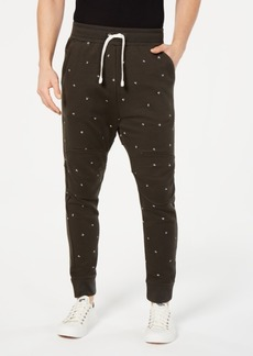 G Star Raw Denim G-Star Raw Men's Letter-Print Sweatpants, Created for Macy's