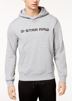 G Star Raw Denim G-Star Raw Men's Loaq Logo-Print Hoodie