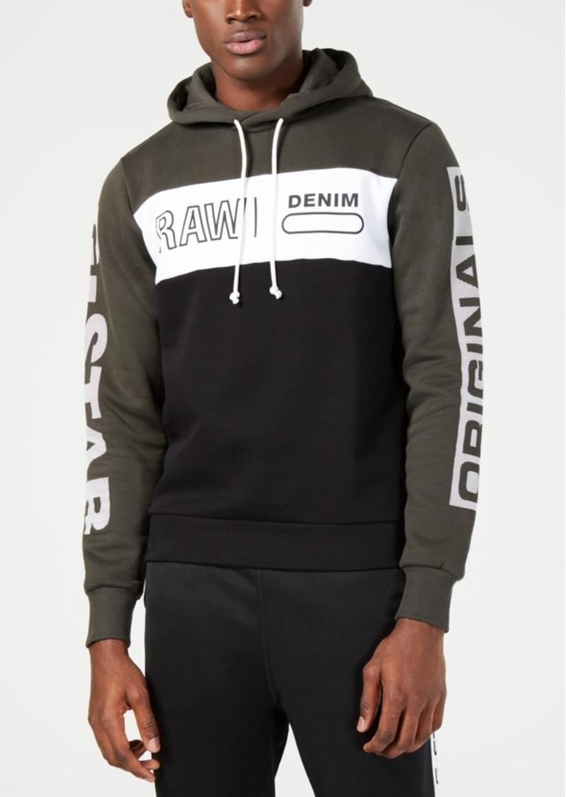 9c234b04802 G Star Raw Denim G-Star Raw Men's Logo Colorblocked Hoodie, Created for  Macy's