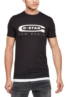 G Star Raw Denim G-Star Raw Men's Logo Graphic 4 T-Shirt