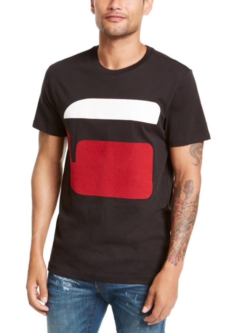 G Star Raw Denim G-Star Raw Men's Logo Graphic T-Shirt, Created For Macy's