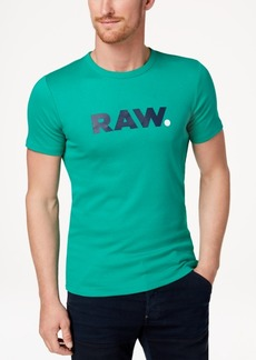 G Star Raw Denim G-Star Raw Men's Logo-Print T-Shirt