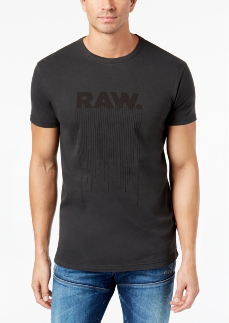 48d26666c23 G Star Raw Denim G-Star Raw Men's Logo-Print T-Shirt | T Shirts