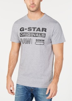 G Star Raw Denim G-Star Raw Men's Logo Print T-Shirt, Created for Macy's