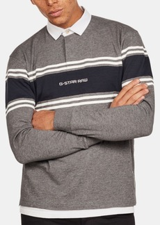 G Star Raw Denim G-Star Raw Mens Logo Rugby Polo, Created for Macy's