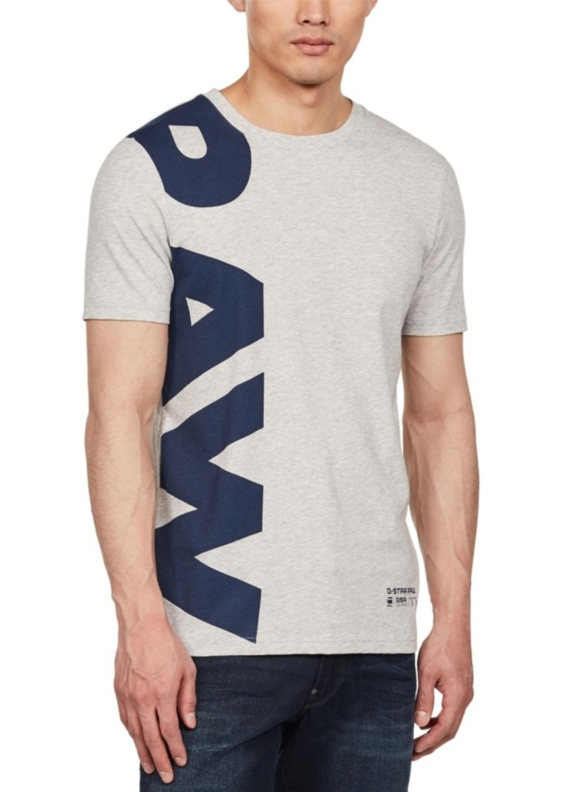 G Star Raw Denim G-Star Raw Men's Logo T-Shirt