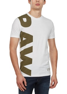 G Star Raw Denim G-Star Raw Men's Logo T-Shirt