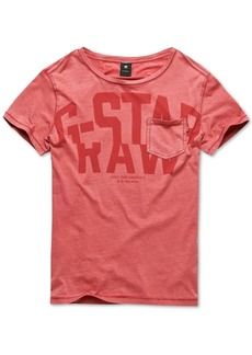 G Star Raw Denim G-Star Raw Men's Logo T-Shirt, Created for Macy's