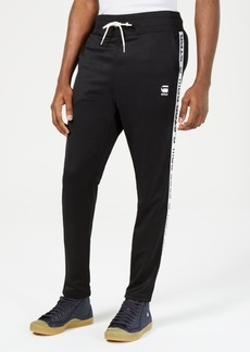 G Star Raw Denim G-Star Raw Mens Logo-Taped Cropped Track Pants, Created for Macy's