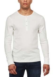 G Star Raw Denim G-Star Raw Men's Long-Sleeve Slim-Fit Henley, Created For Macy's