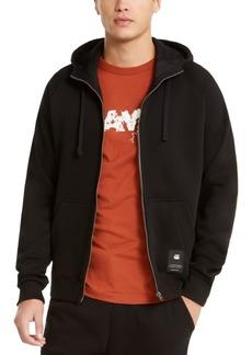 G Star Raw Denim G-Star Raw Men's Manes Raglan Hooded Zip Sweater