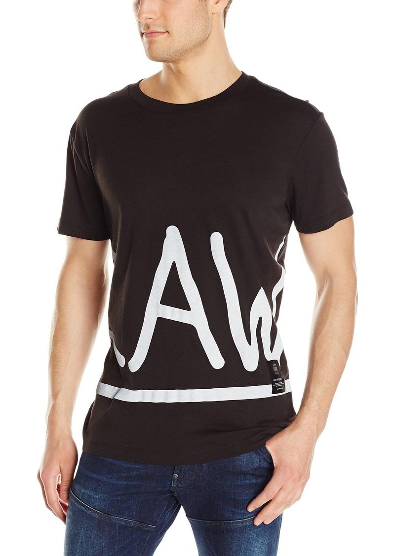 461a19b038f G Star Raw Denim G-Star Raw Men's Manes Zoomed Short Sleeve Jersey Shirt