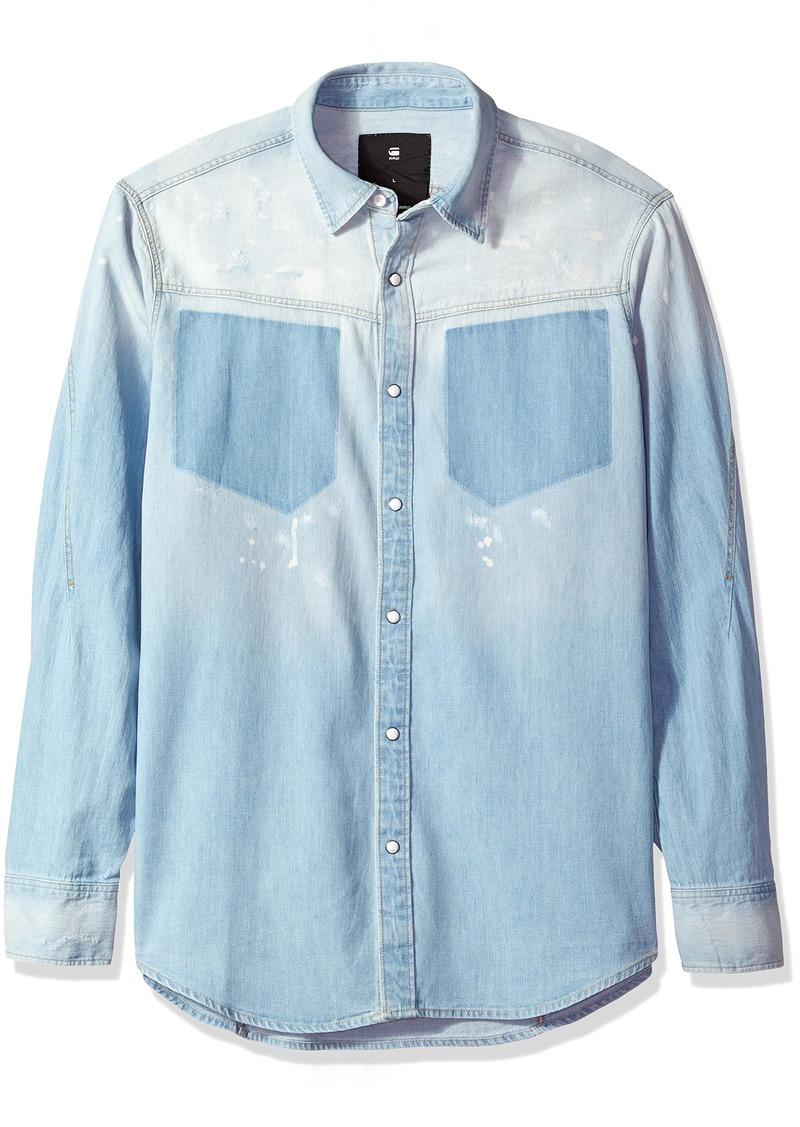 G Star Raw Denim G-Star Raw Men's Modern Arc Shirt Long Sleeve
