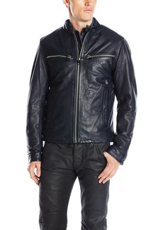 G Star Raw Denim G-Star Raw Men's Mower Leather Jacket