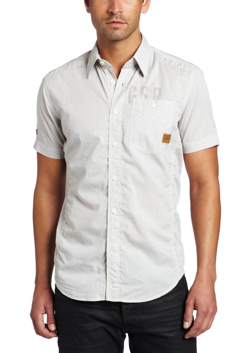 G Star Raw Denim G-Star Raw Men's Ne 5620 Skye Short Sleeve Shirt