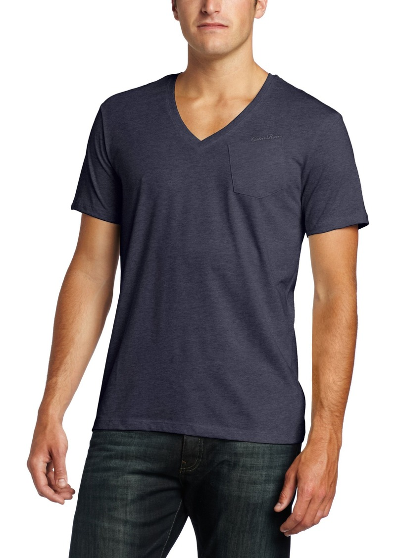 G Star Raw Denim G-Star Raw Men's NY Reg Short Sleeve V-Neck T-Shirt