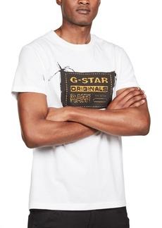 G Star Raw Denim G-Star Raw Men's Originals Logo Graphic T-Shirt, Created For Macy's