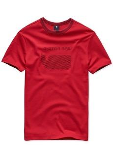 G Star Raw Denim G-Star Raw Men's Oversized Stripe Logo T-Shirt