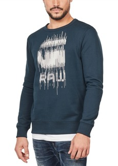G Star Raw Denim G-Star Raw Men's Paint Drip Sweatshirt, Created For Macy's