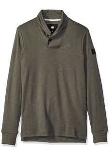 G Star Raw Denim G-Star Raw Men's Poult Shawl Collar Pullover