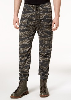 G Star Raw Denim G-Star Men's Powel Qane Camouflage-Print Cargo Joggers, Created for Macy's