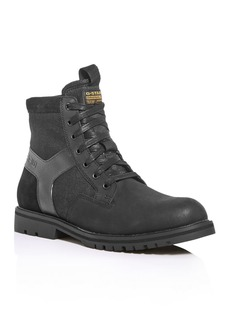 G Star Raw Denim G-STAR RAW Men's Powell Y Lace-Up Boots