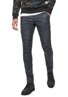 G Star Raw Denim G-Star Raw Men's Rackam 3D Skinny Moto Jeans, Created For Macy's