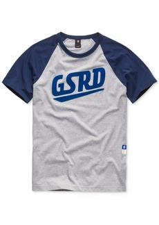G Star Raw Denim G-Star Raw Men's Raglan Logo T-Shirt