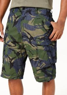 G Star Raw Denim G-Star Raw Men's Raw Denim Camo Rovic Relaxed Stretch Cargo Shorts