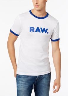 G Star Raw Denim G-Star Raw Men's Raw Sustainable Organic Slim Fit T-Shirt, Created for Macy's