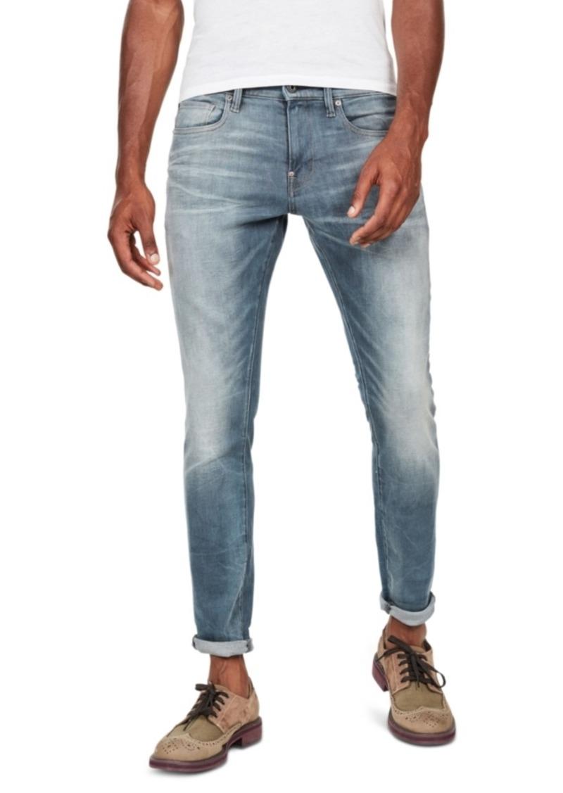 G Star Raw Denim G-Star Raw Men's Revend Skinny-Fit Stretch Jeans