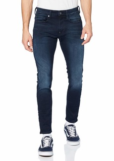 G Star Raw Denim G-Star Raw Men's Revend Slim Fit Pant in Slander Indigo Super Stretch  3132