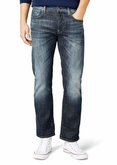 G Star Raw Denim G-Star Raw Men's Revend Straight-Fit Jean in Delm Stretch Denim  40x34