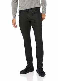 G Star Raw Denim G-Star Raw Men's Revend Super Slim Fit Pant in Black Print Stretch Denim 3D Dark Aged 3134