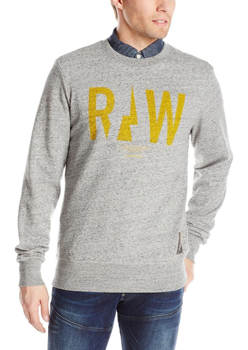 G Star Raw Denim G-Star Raw Men's Righeatherege R Sw Long Sleeve Sweatshirts