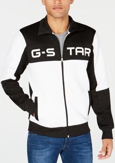 G Star Raw Denim G-Star Raw Men's Rodis Colorblocked Logo Track Jacket, Created for Macy's
