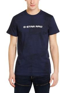 G Star Raw Denim G-Star Raw Men's Rodis Tonal Tropical Logo T-Shirt