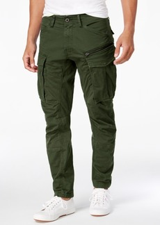 G Star Raw Denim G-Star Raw Men's Rovic 3D Slim-Fit Tapered Cargo Pants