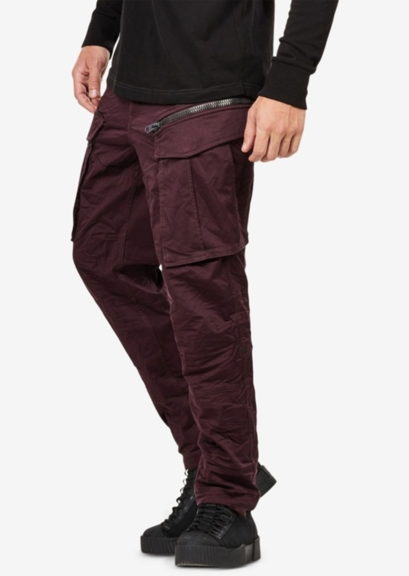 809b01ee979 On Sale today! G Star Raw Denim G-Star Raw Men's Rovic Zip Tapered Pants