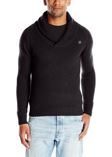 G Star Raw Denim G-Star Raw Men's Sharsaw Shawl Collar In Oxford Knit