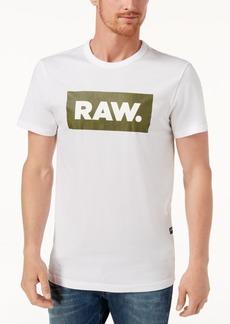 G Star Raw Denim G-Star Raw Men's Shelo Logo-Print T-Shirt, Created for Macy's