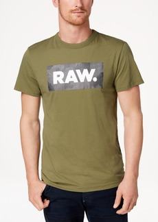 G Star Raw Denim G-Star Raw Men's Shelo Logo-Print T-Shirt, Created for Macy's