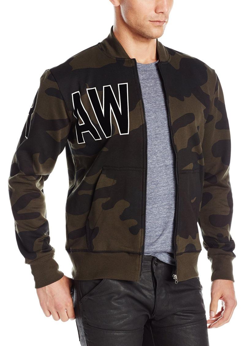 dbeaefa4bd6c1 G Star Raw Denim G-Star Raw Men's Sicha Camo Sherland Sweatshirt Bomber  Jacket