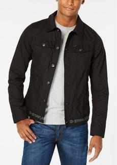 G Star Raw Denim G-Star Raw Men's Slim-Fit Black Denim Jacket, Created for Macy's