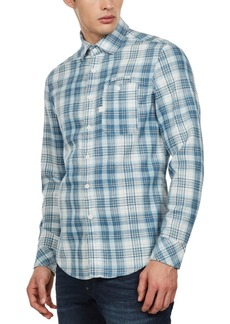 G Star Raw Denim G-Star Raw Men's Slim-Fit Bristum Check Shirt