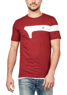G Star Raw Denim G-Star Raw Men's Slim-Fit Logo T-Shirt, Created For Macy's