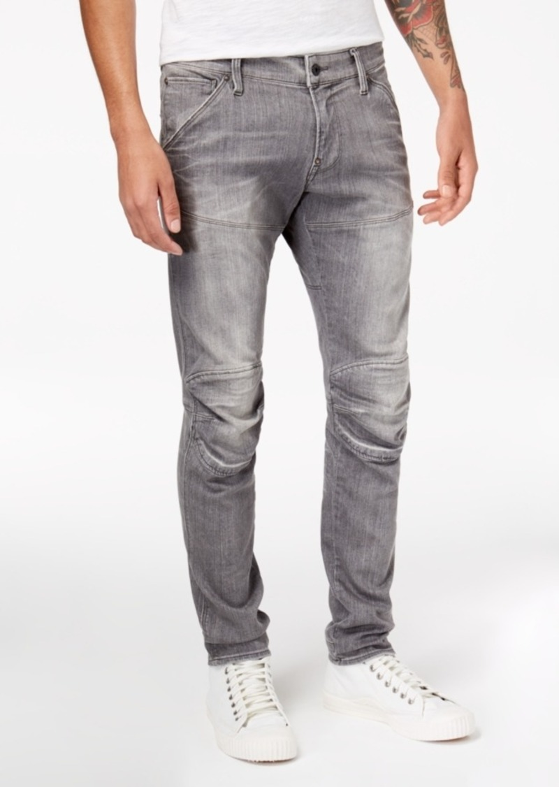 panelled distressed jeans - Grey G-Star ZUU3ZNi