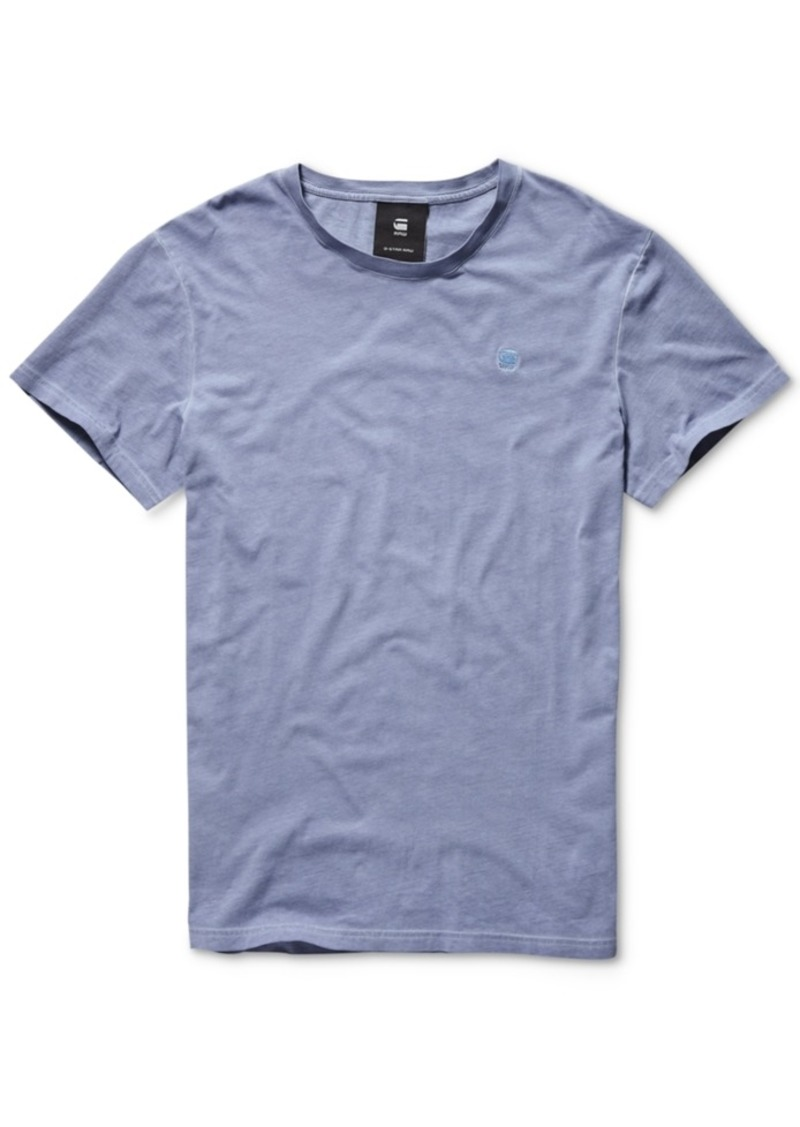 G Star Raw Denim G-Star Raw Men's Solid T-Shirt, Created for Macy's