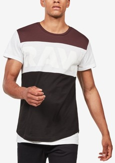 G Star Raw Denim G-Star Raw Men's Starkon Colorblock T-Shirt, Created for Macy's